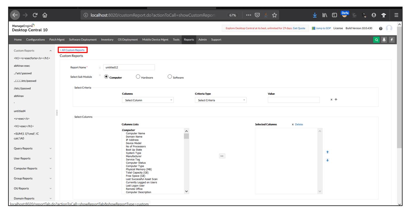 Manage Engine DesktopCentral
